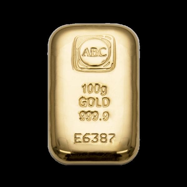 100g Gold 999.9