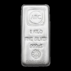 1kg Fine Silver 999.5